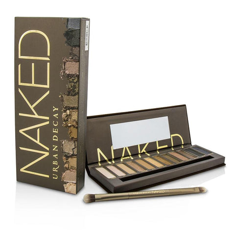 Urban Decay Naked Eyeshadow Palette: 12x Eyeshadow, 1x Doubled Ended Shadow-blending Brush --- By Urban Decay - AuFreshScents.Com