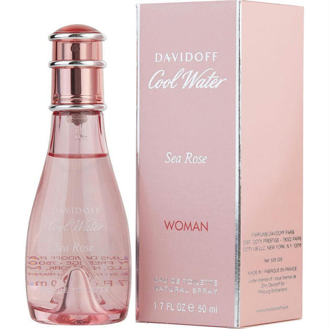 Cool Water Sea Rose By Davidoff Edt Spray 1.7 Oz - AuFreshScents.Com