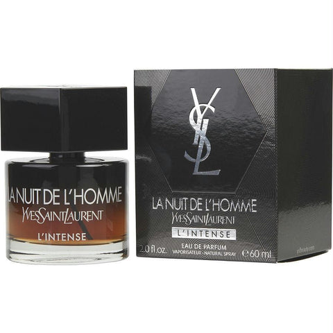 La Nuit De L'homme Yves Saint Laurent L'intense By Yves Saint Laurent Eau De Parfum Spray 2.0 Oz - AuFreshScents.Com
