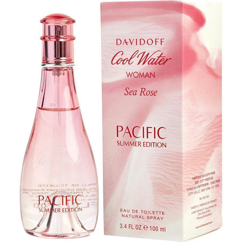 Cool Water Sea Rose Pacific Summer By Davidoff Edt Spray 3.4 Oz (limited Edition) - AuFreshScents.Com