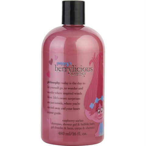 Buy Poppy's Berrylicious Journey Shampoo, Shower Gel & Bubble Bath --16oz at AuFreshScents.com.com