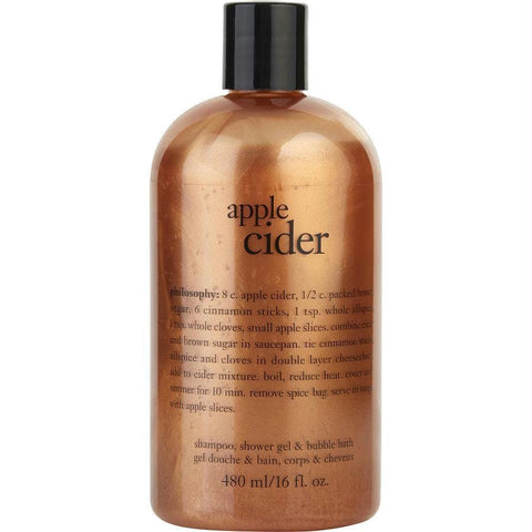 Buy Apple Cider - Shampoo, Shower Gel & Bubble Bath --480ml-16oz at AuFreshScents.com.com