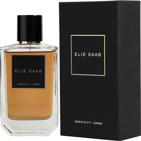 Elie Saab Essence No 3 Ambre By Elie Saab Eau De Parfum Spray 3.3 Oz - AuFreshScents.Com