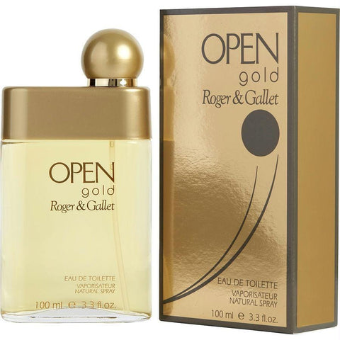Buy Open Gold By Roger & Gallet Edt Spray 3.3 Oz at AuFreshScents.com.com