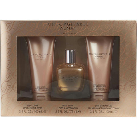 Sean John Gift Set Unforgivable Woman By Sean John - AuFreshScents.Com