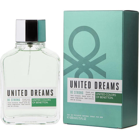 Benetton United Dreams Be Strong By Benetton Edt Spray 6.75 Oz - AuFreshScents.Com