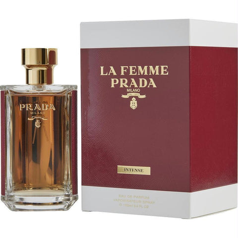 Prada La Femme Intense By Prada Eau De Parfum Spray 3.4 Oz - AuFreshScents.Com