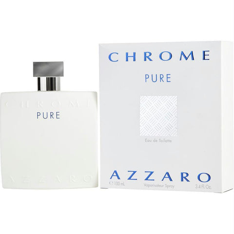 Chrome Pure By Azzaro Edt Spray 3.4 Oz - AuFreshScents.Com