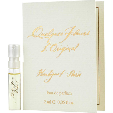 Quelques Fleurs By Houbigant Eau De Parfum Spray Vial On Card - AuFreshScents.Com
