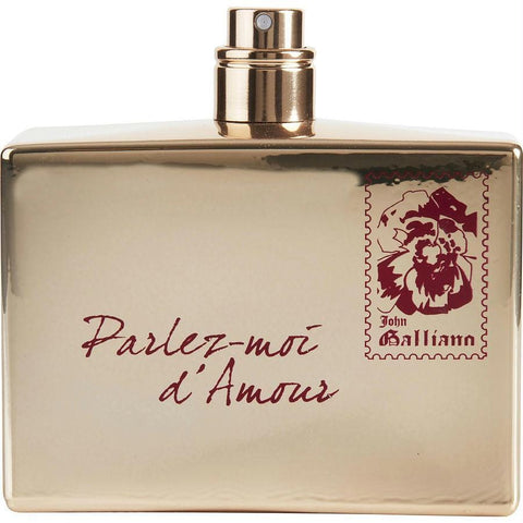 Buy John Galliano Parlez-moi D'amour By John Galliano Edt Spray 2.6 Oz (gold Edition) *tester at AuFreshScents.com.com