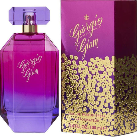Giorgio Glam By Giorgio Beverly Hills Eau De Parfum Spray 3.4 Oz - AuFreshScents.Com