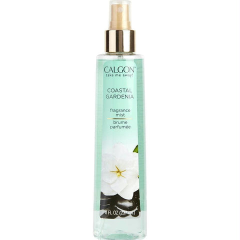 Calgon By Coty Coastal Gardenia Body Mist 8 Oz - AuFreshScents.Com