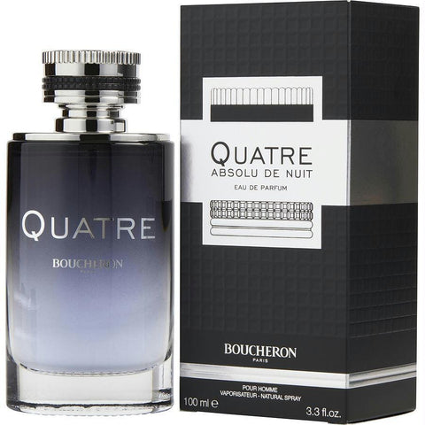 Boucheron Quatre Absolu De Nuit By Boucheron Eau De Parfum Spray 3.3 Oz - AuFreshScents.Com