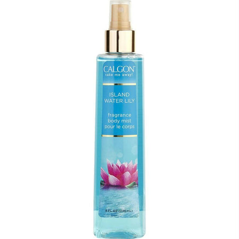 Calgon By Coty Island Water Lily Body Mist 8 Oz - AuFreshScents.Com