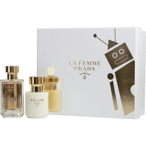 Prada Gift Set Prada La Femme By Prada - AuFreshScents.Com