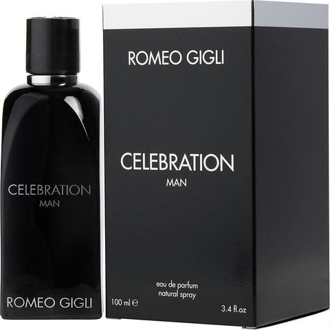 Romeo Gigli Celebration Man By Romeo Gigli Eau De Parfum Spray 3.4 Oz - AuFreshScents.Com