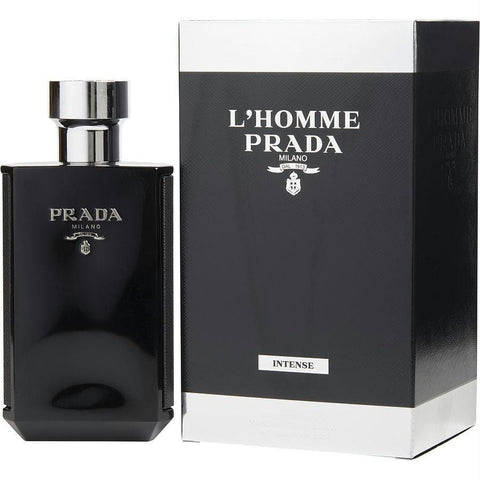 Prada L'homme Intense By Prada Eau De Parfum Spray 5.1 Oz - AuFreshScents.Com