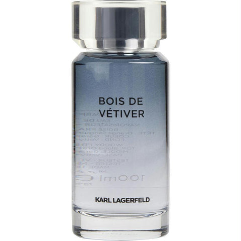 Karl Lagerfeld Bois De Vetiver By Karl Lagerfeld Edt Spray 3.3 Oz *tester - AuFreshScents.Com
