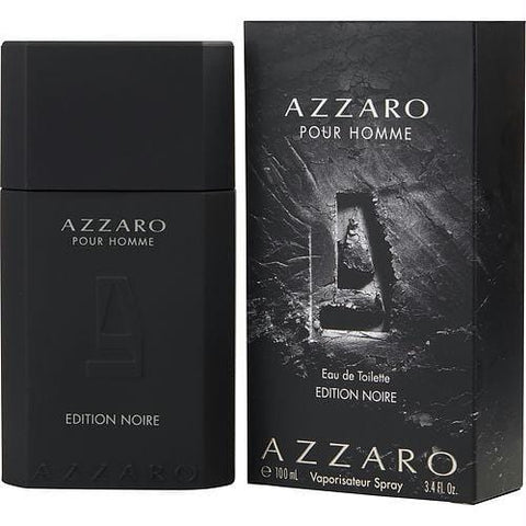 Azzaro Pour Homme Edition Noire By Azzaro Edt Spray 3.4 Oz - AuFreshScents.Com