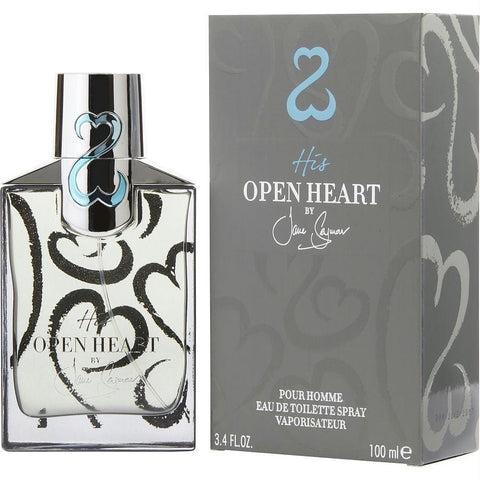Buy His Open Heart By Jane Seymour Edt Spray 3.4 Oz at AuFreshScents.com.com