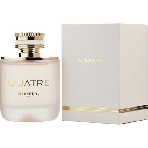 Boucheron Quatre En Rose Florale By Boucheron Eau De Parfum Spray 3.3 Oz - AuFreshScents.Com