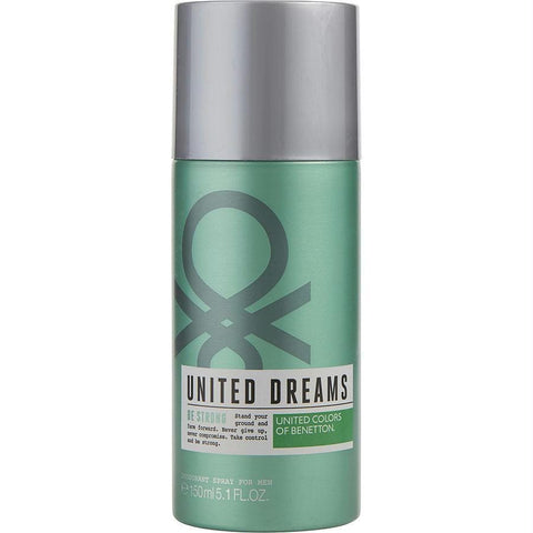 Benetton United Dreams Be Strong By Benetton Deodorant Spray 5 Oz - AuFreshScents.Com