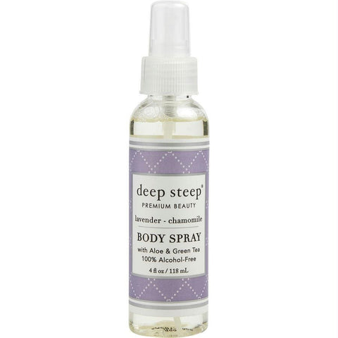 Deep Steep Lavender-chamomile Body Spray Alcohol Free 4 Oz By Deep Steep - AuFreshScents.Com