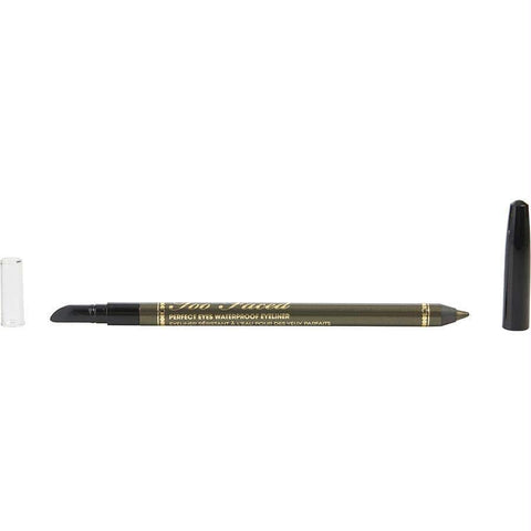Too Faced Perfect Eyes Waterproof Eyeliner - Perfect Moss --1.13g-0.04oz (unboxed) By Too Faced