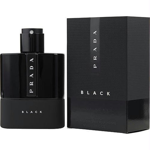 Prada Luna Rossa Black By Prada Eau De Parfum Spray 3.4 Oz - AuFreshScents.Com