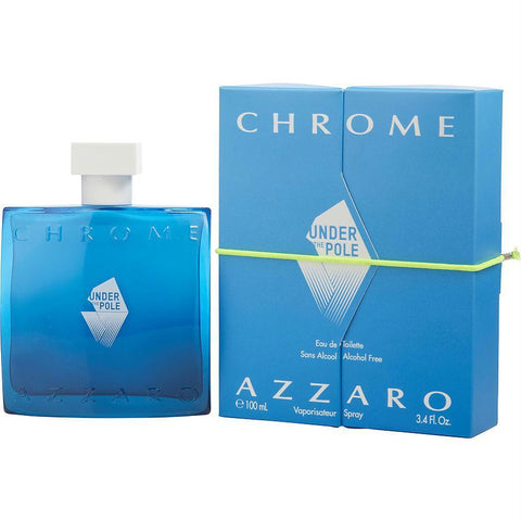 Chrome Under The Pole By Azzaro Edt Spray (alcohol Free) 3.4 Oz - AuFreshScents.Com