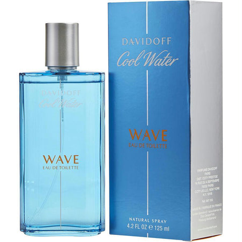 Cool Water Wave By Davidoff Edt Spray 4.2 Oz - AuFreshScents.Com