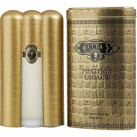 Cuba Prestige Legacy By Cuba Edt Spray 3 Oz - AuFreshScents.Com