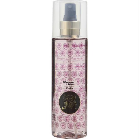 Whatever It Takes Kesha Blossom Of White Musk By Whatever It Takes Body Mist 8.1 Oz - AuFreshScents.Com