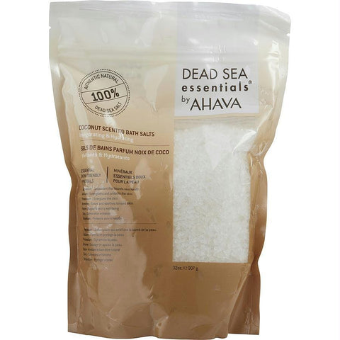 Dead Sea Essentials Coconut Scented Bath Salts --907g-32oz - AuFreshScents.Com
