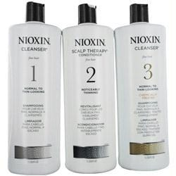 Set-3 Piece Maintenance Kit System 4 With Cleanser 10.1 Oz & Scalp Therapy 10.1 Oz & Scalp Treatment 3.38 Oz - AuFreshScents.Com