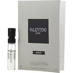 Valentino Uomo Acqua By Valentino Edt Spray Vial On Card
