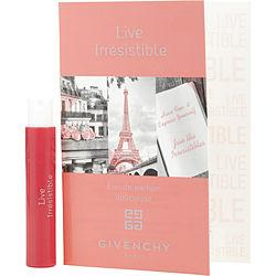 Live Irresistible Delicieuse By Givenchy Eau De Parfum Spray Vial On Card