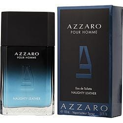 Azzaro Naughty Leather By Azzaro Edt Spray 3.4 Oz
