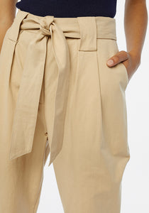 Paperbag Trousers With Darts