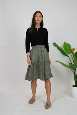 Tweed Renville Skirt