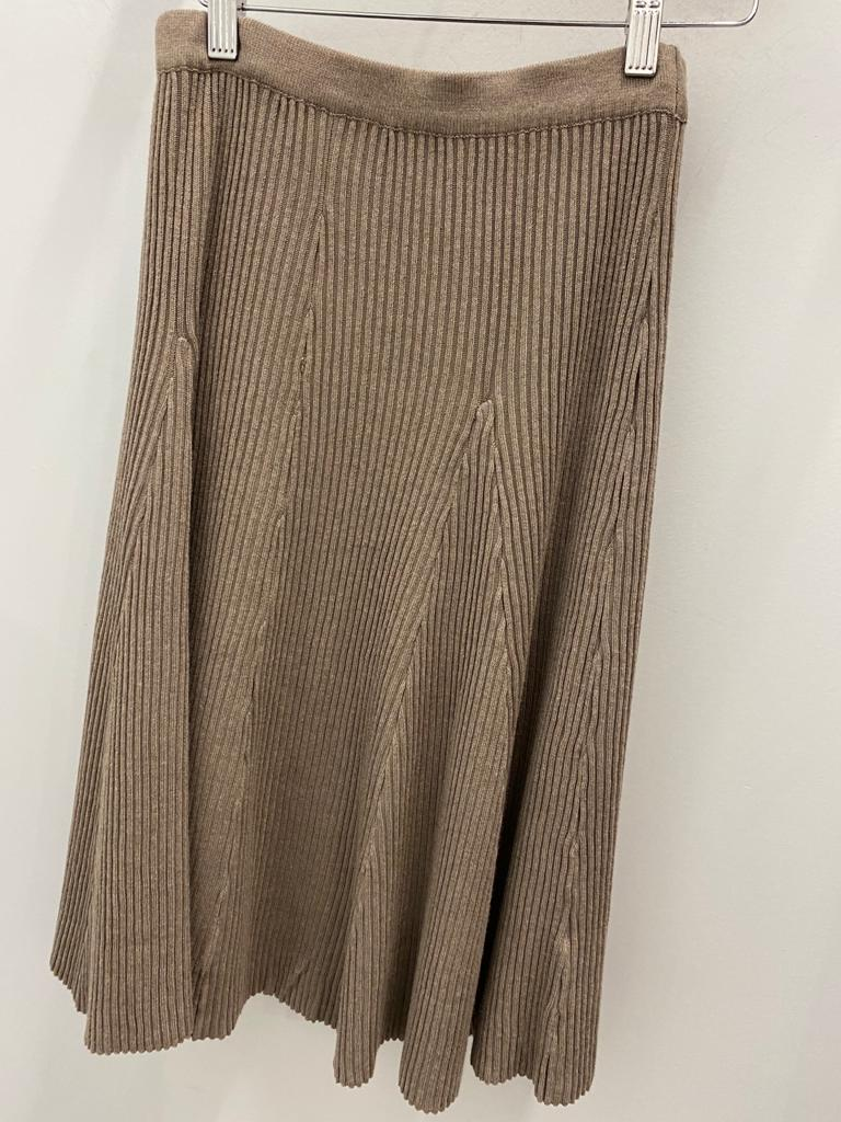 Slim Skirt Uptown Knit Taupe