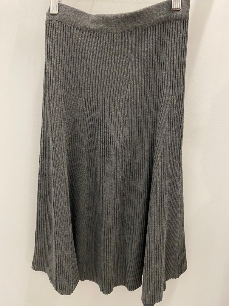 Slim Skirt Uptown Knit Heather Charcoal
