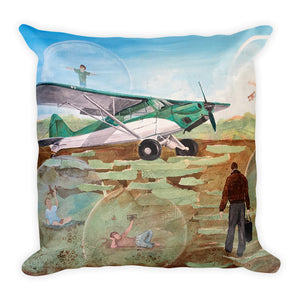 Field of Dreams Premium Pillow