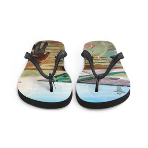 Field of Dreams Flip-Flops