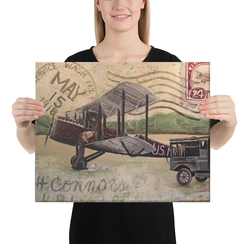1918 Air Mail 16 x 20 Canvas