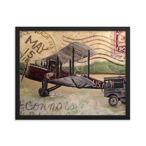 1918 Air Mail Framed Poster