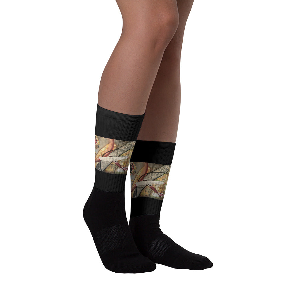 Hundred Dollar Hamburger Socks