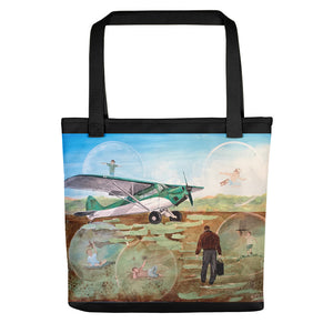 Field of Dreams (w/black border) Tote bag