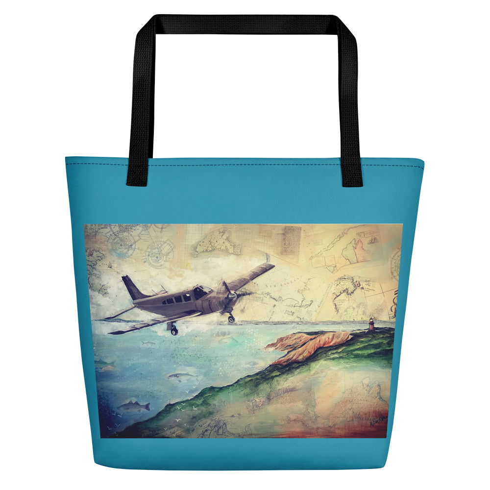 To the Vineyard! Beach Bag