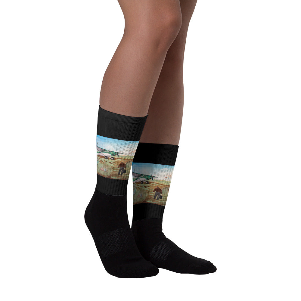 Field of Dreams Socks